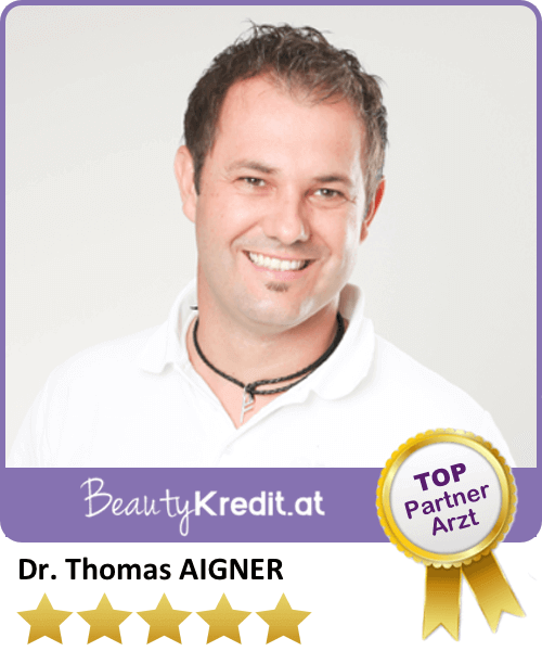 Dr. Thomas Aigner / Premium Arzt bei BeautyKredit.at, Ordination Dr. Aigner, Neustiftgasse 17-19/8b, A-1070 Wien, Tel: +43 664 / 226 49 29