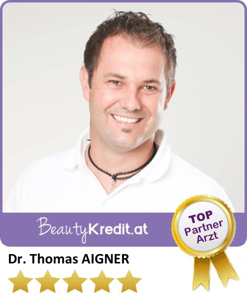 Dr. Thomas Aigner / Premium Arzt bei BeautyKredit.at, Ordination Dr. Aigner, Neustiftgasse 17-19/8b, A-1070 Wien, Tel:+43 664 / 226 49 29