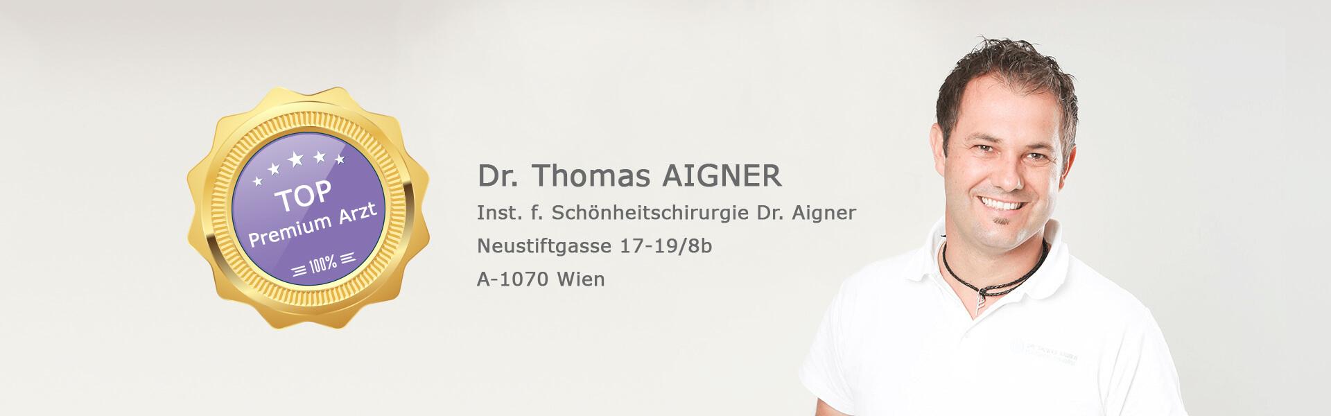 Dr Thomas Aigner Plastischer Chirurg 1070 Wien